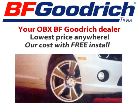 Outer Banks OBX BF Goodrich Tire Tires  Discount Our Price Free Install