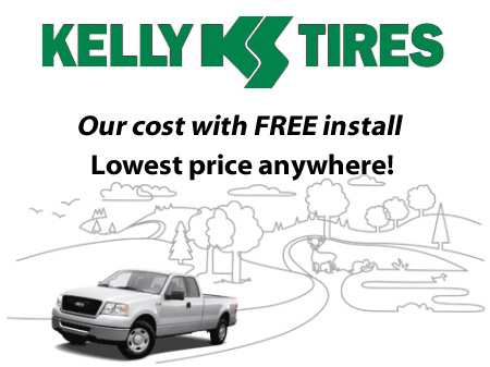 Outer Banks OBX Kelly Tire Tires  Discount Our Price Free Install
